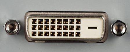 View of VGA port