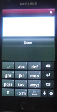 Image of LG TV Remote third screen